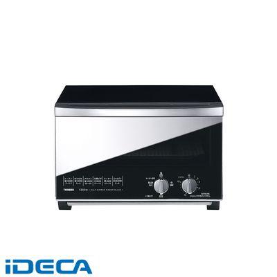 CN11642 ミラーガラス オーブントースター TS-D047B