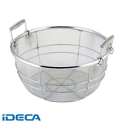 CR00229 18-8 料理鍋用 揚げザル 手付 39用 内径370