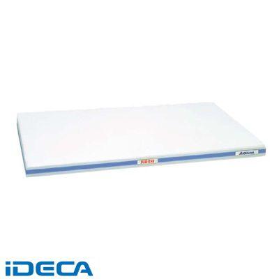 CS82376 抗菌かるがるまな板 SDK 500×300×20 ホワイト/青線
