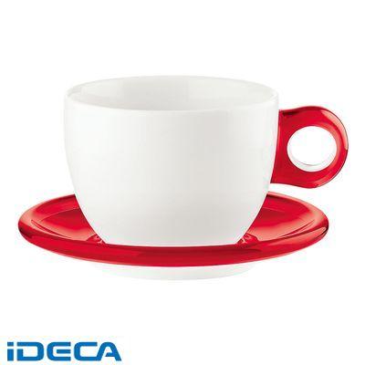 CT84814 ラージコーヒーカップ 2客セット 2775.0065 レッド