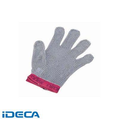 CW58390 ニロフレックス メッシュ手袋5本指 L L5 青
