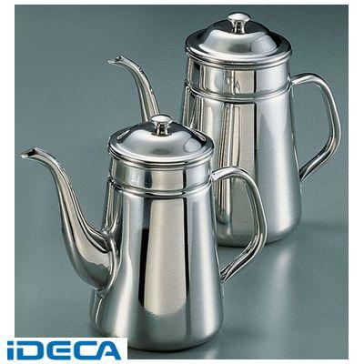 DL67603 SA18-8新型ハンドル コーヒーポット 細口 #13《電磁調理器用》
