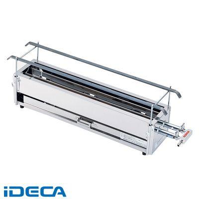 DM60119 SA18-0二本パイプ焼鳥器 大 LPガス