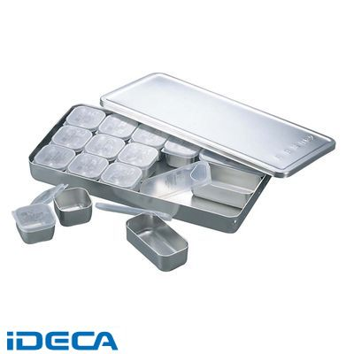 DT63146 MA 18-8 検食容器 中子PP蓋付 A型