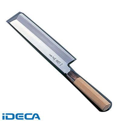 DU18100 正本 本霞・玉白鋼 東型薄刃庖丁 21cm