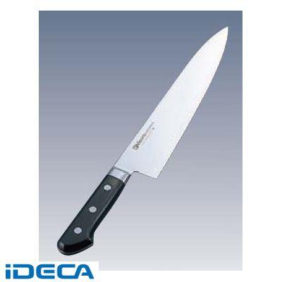 EN76277 ミソノ モリブデン鋼 ツバ付 牛刀 518 19.5