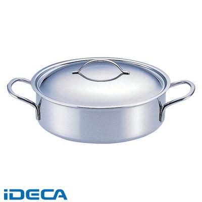 EN80527 18-10プライオリティ 外輪鍋 蓋付 3693-24 デバイヤー
