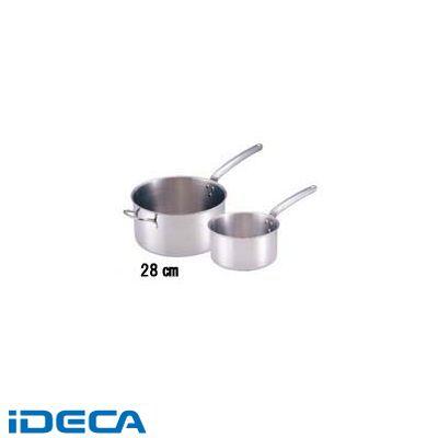 FR80963 18-10プライオリティ 片手深型鍋(蓋無) 3690-16 デバイヤー