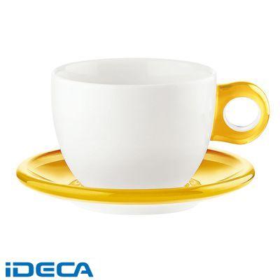 GR62025 ラージコーヒーカップ 2客セット 2775.0088 イエロー