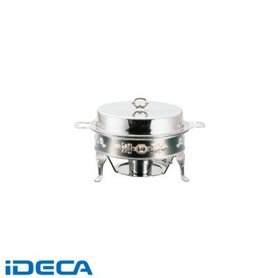 HR46781 UK18-8ユニット丸湯煎 鳳凰 A・B・C・Eセット16インチ