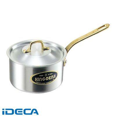 HU95522 キングデンジ 深型片手鍋 目盛付 15