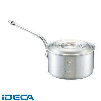 HV02240 アルミ キング 深型 片手鍋 目盛付 24