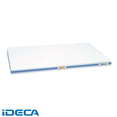HV83118 抗菌かるがるまな板 SDK 410×230×20 ホワイト/青線