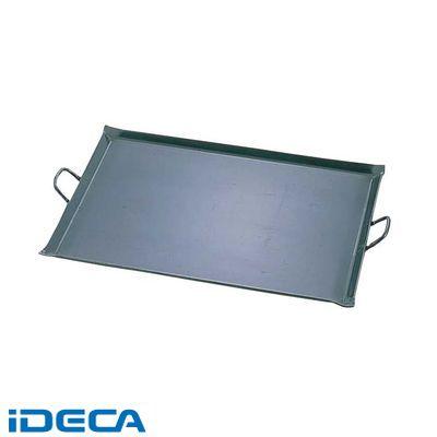 HW52734 鉄 極厚プレス式 バーベキュー鉄板 中