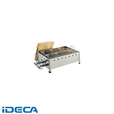 JS67189 18-8直火式おでん鍋 OJ-15 尺5寸 LPガス