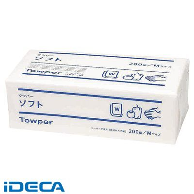JV17350 トウカイ ペーパータオル (25束入) タウパー ソフトM