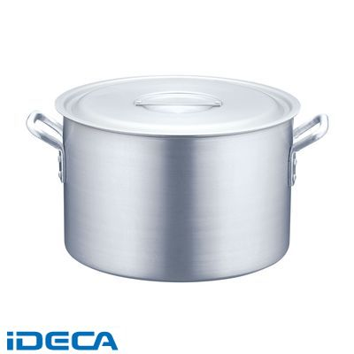 JW39051 半寸胴鍋 アルミニウム(アルマイト加工) (目盛付)TKG 51