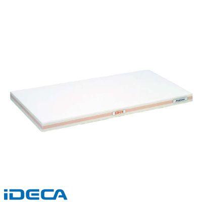 KN14760 抗菌かるがるまな板 SDK 460×260×20 ホワイト/桃線