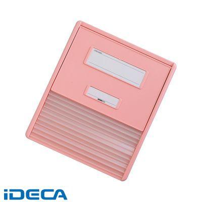 DN75993 カラーカードインデックス A4 4ピンク