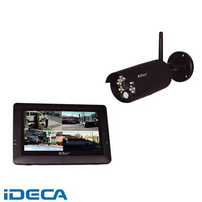 EU61602 (オルタプラス)ハイビジョン無線カメラ&モニターセット
