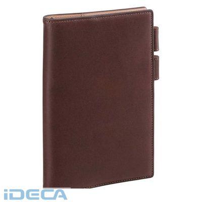 ET72053 ダヴィンチ アースレザー システム手帳 聖書 11mm ダークブラウン