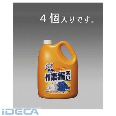 【個人宅配送不可】BP58261「直送」【代引不可・他メーカー同梱不可】 4.5kgx4個 作業着用洗剤【液体ビック】【キャンセル不可】