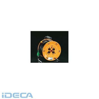 【個人宅配送不可】【キャンセル不可】JS90675「直送」【代引不可・他メーカー同梱不可】 100Vx50m [アース付]コードリール