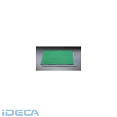 【個人宅配送不可】【キャンセル不可】CP15769「直送」【代引不可・他メーカー同梱不可】 900x1500mm [緑]玄関マット