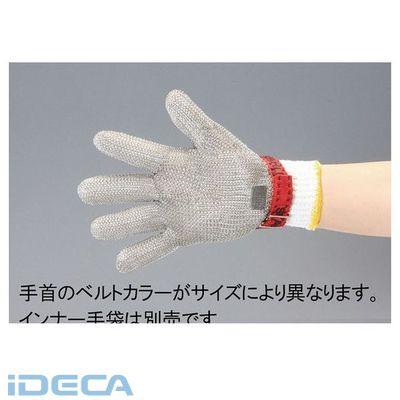 【個人宅配送不可】【キャンセル不可】DR64651「直送」【代引不可・他メーカー同梱不可】 【L】 5本指手袋【ステンレス製/左右兼用】