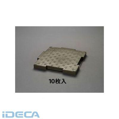 【個人宅配送不可】BR38496 直送 代引不可・他メーカー同梱不可 500x500x45mm 樹脂製敷板 OD色/10枚 【キャンセル不可】