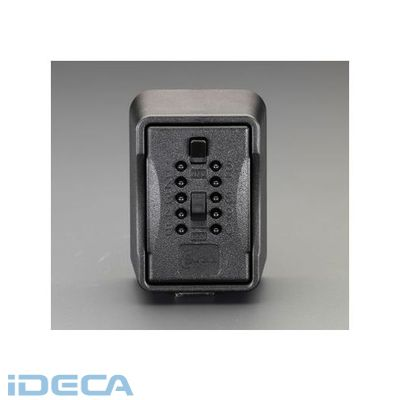 【個人宅配送不可】DM60871 直送 代引不可・他メーカー同梱不可 95x70x131mm キーボックス プッシュボタン式 【キャンセル不可】