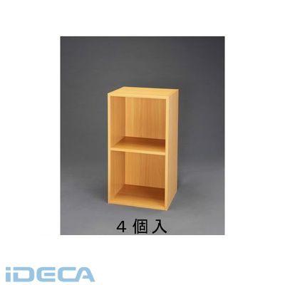 【個人宅配送不可】【キャンセル不可】HU30001「直送」【代引不可・他メーカー同梱不可】 364x300x734mm 木製収納棚(連結式/4個)