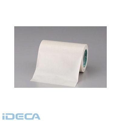 【個人宅配送不可】JR11438 直送 代引不可・他メーカー同梱不可 50x0.15mm ガラスクロス粘着テープ フッ素樹脂コート 【キャンセル不可】