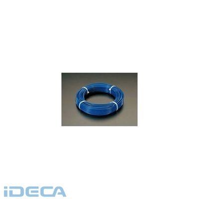 【個人宅配送不可】BS22576 直送 代引不可・他メーカー同梱不可 8.0/10.0x30m ステンレス PVCコート ワイヤーロープ【キャンセル不可】