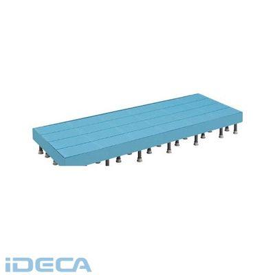 BS38220 樹脂ステップ高さ調節式側板付600X1800 H200-220