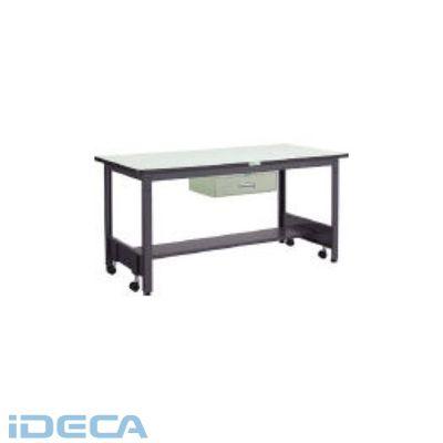 CT13831 直送 代引不可・他メーカー同梱不可 移動式作業台中量鉄天板900×600引出1段