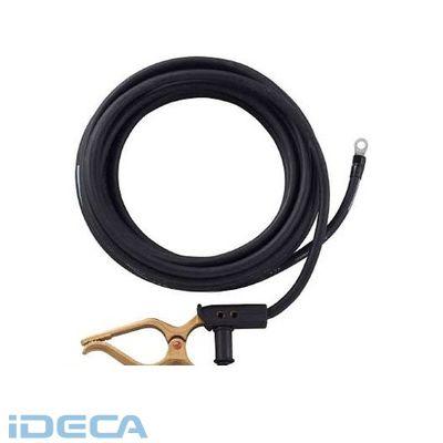 DL87071 キャブタイヤケーブル アースクリップ丸端子付 5m