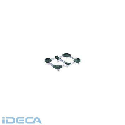 【あす楽対応】DM59782 伸縮式コンテナ台車6輪型600x600