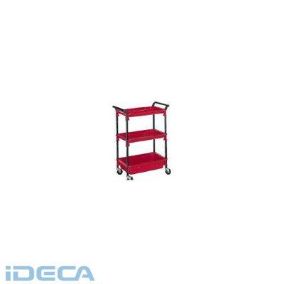 【個数:1個】EN91493 ツールワゴンロイヤル654×361×887深1浅2赤