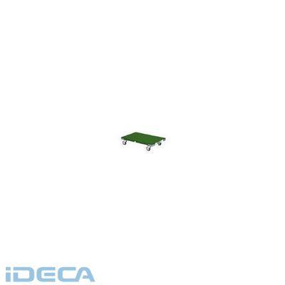 GU44630 「直送」【代引不可・他メーカー同梱不可】 フック引棒付鉄板平台車1100×1000