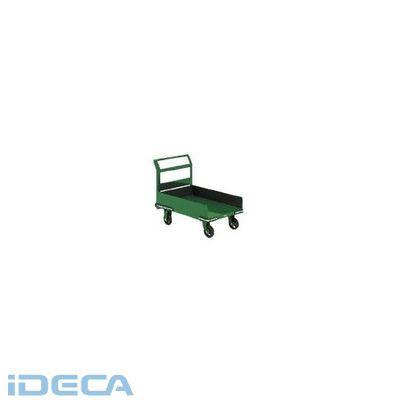 JN93987 「直送」【代引不可・他メーカー同梱不可】 型鋼鉄製運搬車三面パネル付900×600