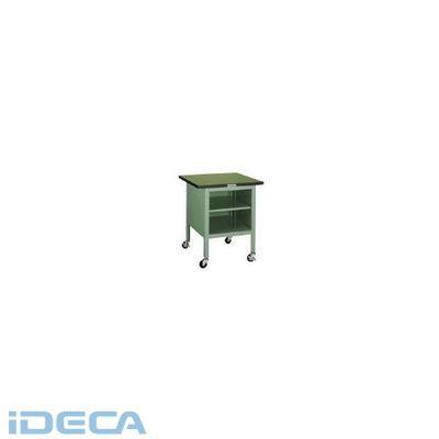 DN72967 直送 代引不可・他メーカー同梱不可 作業台棚板1枚付キャスター付700×700×810