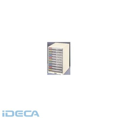 JL37345 プラスチックB4レターケース浅型10段