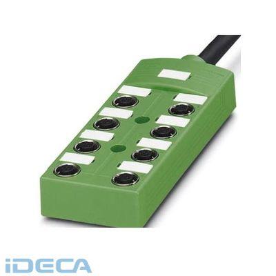 BU87221 センサ/アクチュエータボックス - SACB-8/ 8-10,0PUR SCO - 1517055