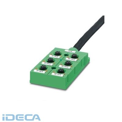 HP82208 センサ/アクチュエータボックス - SACB-6/ 6-L- 5,0PUR - 1695100