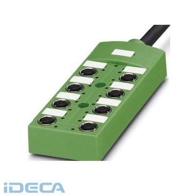 JN27716 センサ/アクチュエータボックス - SACB-8/ 8-L-10,0PUR SCO - 1517178