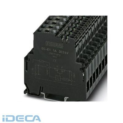 JU38115 電子式機器用ミニチュアサーキットブレーカ - EC-E 2A DC24V - 0903043 【6入】 【6個入】