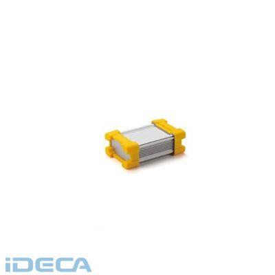 KN79342 直送 代引不可・他メーカー同梱不可 AWP型 プロテクター付アルミケース プロテクター/イエローボディーフレーム/シルバー