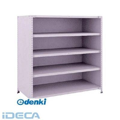 【オンラインショップ】 軽量150型背側板付棚 1200X600XH1200 5段 AN25679 【ポイント10倍】:iDECA 店-DIY・工具