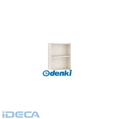 CP71707 軽量棚背板・側板付 875X600X1200 3段 ネオグレ